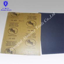Wasserfestes Schleifpapier zum Polieren von Marmor, Baustoffen, Textilien