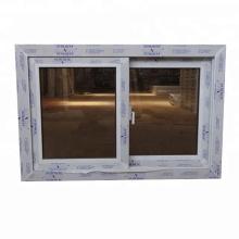 Color blanco de alta calidad conch upvc windows.