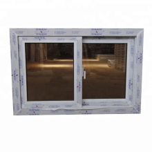 White color high quality conch upvc windows