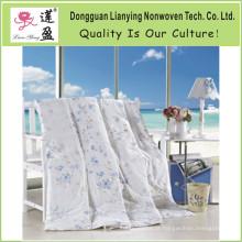 Natural Conforto Peso leve preenchido 100% puro seda Consolador com tampa de algodão (NS001)