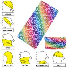 Diadema de pañuelo sin costuras multifuncional de microfibra personalizada