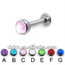 Großhandel billig piercing labret Ring Lippe Ring Körper piercing
