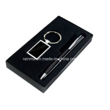 Business Promotional Gift Set with Key Chain and Pen