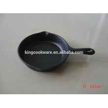 kitchen round mini cast iron skillet/fry pan