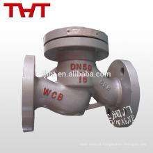 extremidades da flange válvula de retenção de elevação / válvula de retenção de alta pressão
