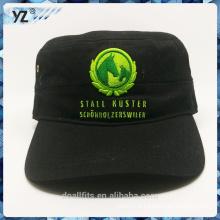 Solf a senti le chapeau de l'armée avec un logo vert de bonne qualité fait en Chine