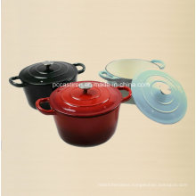 3PCS Cast Iron Coowkare Set LFGB Factory