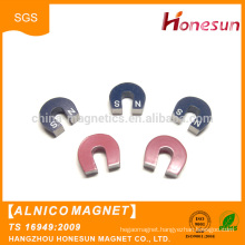 High quality Customized Horse Shoe cast Alnico Educational Magnet