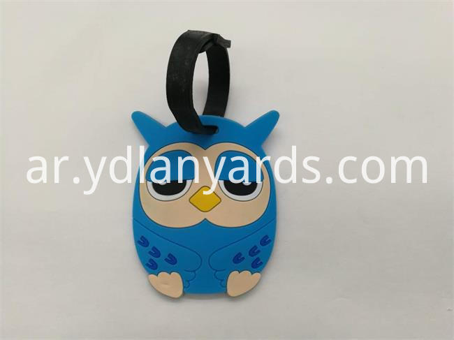 PVC Luggage Tag for suite case