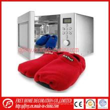 Deslizadores calentados microondas del bolso de la lavanda de la lavanda