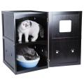 Двухэтажный ящик для домашних животных
