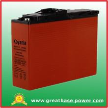 Bateria de gel de terminal frontal 110ah 12V