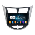 Verna 2011-2012 car auto multimedia dvd player
