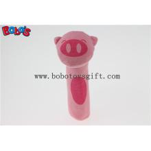 """5.5 """"Смешной дизайн фаршированные розовые свиньи животных Плюшевые игрушки Stick Bosw1040"""