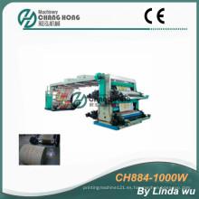 4 colores PP tejieron la máquina de impresión del Flexo del bolso (CH884-1000W)