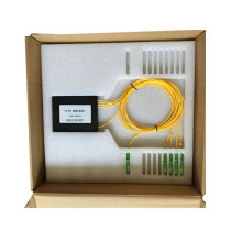 Real Producer of ABS Box 1*4 with Sc/APC Connector PLC Splitter