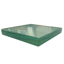 laminated glass 1.52 green PVB laminated glass for curtain wall and balcony