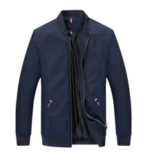 Luxury Quality Hot Selling Blank Custom Rib Collar Track Jacket