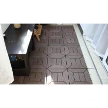 Wood Plastic Composite Deck Tiles