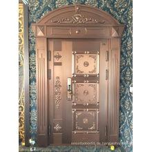 Neue Design Villa Luxus Eingang Kupfer Tür