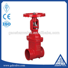 ductile iron resilient seated signal gate valve
