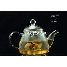 Borosilikat-Kürbis-Form-Glas-Topf mit Glaseinsatzfilter, 300ml / Topf
