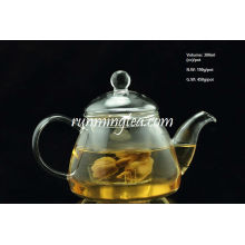 Pot à gousite à base de borosilicate en verre avec filtre en verre, 300 ml / pot