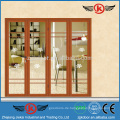 JK-FD9009 Aluminium Tür Preis / Aluminium Verwendete Windos und Türen