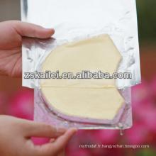 Masque de collagène anti-vieillissement 24k gold collagène