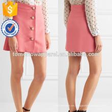 Nueva moda rosa embellecido Cady Mini falda diaria DEM / DOM fabricación al por mayor ropa de mujer de moda (TA5146S)