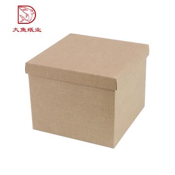 Boîtier de stockage de documents ondulés fort personnalisé