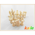Luxury chess set pack in straps cylinder package