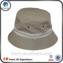 plain cotton bucket hat for women