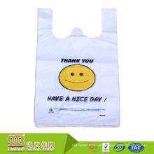 Guangzhou Maibao Fabrik Großhandel biologisch abbaubare HDPE Kunststoff Einkaufen Weste Träger T-Shirt Taschen