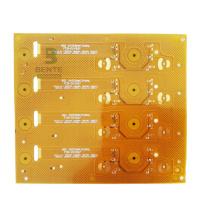 Hög precision Knappbräda 2 lager Flex PCB Golden Finger