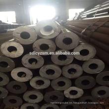 Tubería de acero inconsútil del fabricante Tubería de acero inconsútil negro