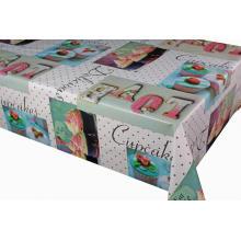 Pvc Печатные столешницы с покрытием Cotton Polyester