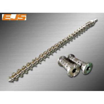 rubber screw barrel for PE, PC, PVC