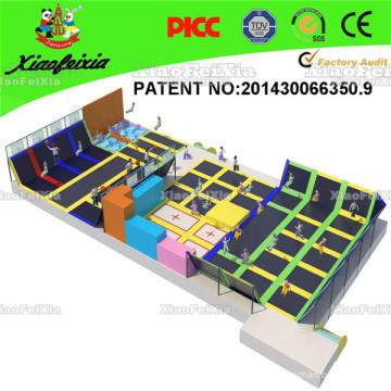 Hot Selling Trampoline Park with Pyramid