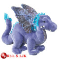 Meet EN71 and ASTM standard ICTI plush toy factory dragon stuffed toys