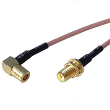 RP SMA hembra a SMB hembra Jack Connector RF coaxial Pigtail Cable RG316