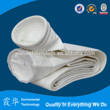 Bag filter housing for cement dust