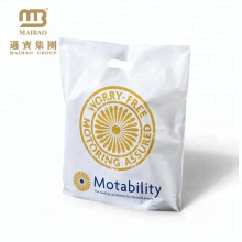 China Hersteller kostenlose Proben benutzerdefinierte Shopping billige Plastiktüten mit Logo drucken