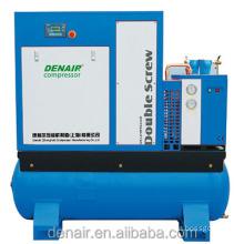 22kw screw type air compressor with dryer