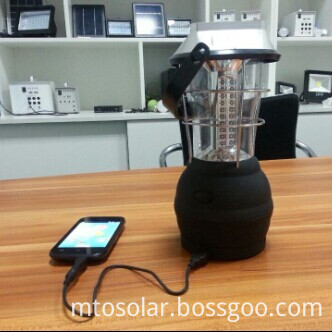 solar lantern with mobile charging