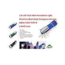 Outdoor LED Multi Tool Flashlights