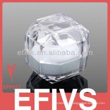 Reciclado caja de joyas de cristal al por mayor