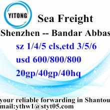 Shenzhen Sea Fregiht envio para Bandar Abbas