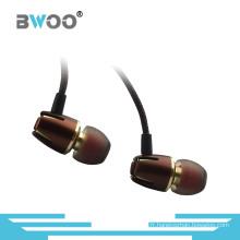 Nouveau Écouteur intra-auriculaire stéréo de haute qualité stéréo de 3,5 mm en métal