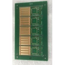 China for Via In Pad 6 layer Green Solder blind vias PCB export to India Importers